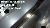 热镀锌钢板的三光点激光钎焊