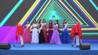 中国电商网红模特大赛的佳丽们,亮相电影《老公去哪了》开机仪式