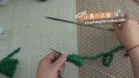 小虫讲解 可爱的圣诞袜3_棒针(高清)