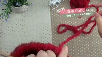 小虫讲解 可爱的圣诞袜2_棒针(高清)