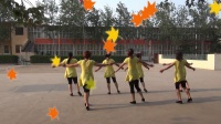 新章村超清广场舞:新套马杆