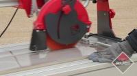 西班牙瑞比(RUBI)零粉尘电动瓷砖切割机DX-250