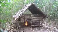【藤缠楼】澳洲原始小哥视频系列1 - Wattle and Daub Hut