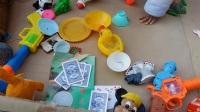 亲子游戏 儿童过家家厨房玩具18 宝宝们在玩做饭做菜厨房玩具游戏 儿童玩具迪士尼芭比娃娃换装小游戏 小猪佩奇厨房玩具 煮饭的过家家游戏 娃娃食玩 厨房炒菜过家家