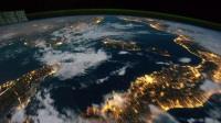 AE特效 延时摄影 俯瞰地球 极光 宇宙 太空实拍 LED 大屏幕 高清视频素材