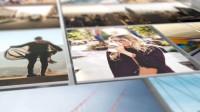 时尚动感三维空间照片墙 视频照片库幻灯片展示介绍相册动画AE模板