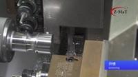 """震环机床 Z-MaT——CK280-D平床身线轨机 3侧升降+2正""""动力头"""