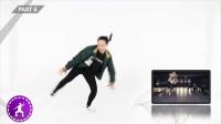 鹿晗 敢role play 舞蹈教学part1