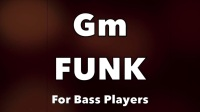 Funk Bass Backing Track(Gm)