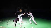 2017 中国跆拳道公开赛 开幕式 WTF 表演团 跆拳舞 品势 特技 表演