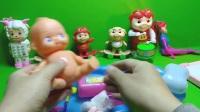 004亲子游戏 大头儿子小头爸爸新版洗洗澡 花园宝宝妈妈洗澡洗浴盆玩具