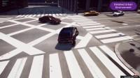Autonomous car research with AirSim