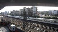 陇海铁路(在郑州解放路桥拍车)—G833次通过