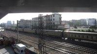 陇海铁路(在郑州解放路桥拍车)—K134次通过
