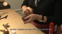 How is a Hermès leather strap crafted, part 2