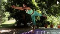 从零开始学瑜伽 初级印度瑜伽课程.单腿站立式Ekapadasana(P7)
