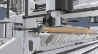 最先进的木门窗设备 威力康途锐Conturex铣型加工中心 欧式木窗生产工艺 铝包木窗加工技术