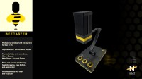 NEAT:BEECASTER/蜜蜂投手 USB麦克风视频演示