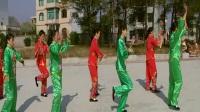 21农家女 塘洲罗家新村健身队表演 2017.12.24