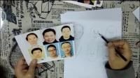 肖像漫画创作技巧 教学视频
