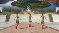 塔河蓉儿广场舞《阿哥阿妹》单人水兵舞附分解教学 附背面教学