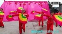 广场舞《财神又到》真静乡中老年舞蹈队演出,比乐人生制作