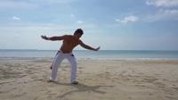 Capoeira卡波拉花式特技动作教学_直升机_螺旋桨【中文字幕】