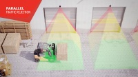 LZR-widescan,工业门激光传感器,用于区域检测及安全保护。