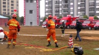 """楚雄州2017年""""119""""消防宣传月活动启动仪式暨多种形式消防队伍业务汇报表演"""