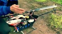 法国NEURON 九轴陀螺仪 设定要领讲解 第1趟外场飞行调整