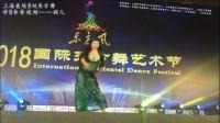 肚皮舞比赛东方舞学员参赛视频-颖儿