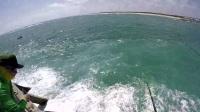 海堤钓巨型石斑鱼