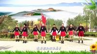 塞北木兰广场舞《最美的相遇》视频制作:小太阳