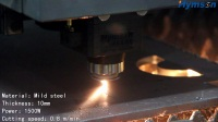 1500W 10mm MS LASER CUT!Hymson Laser