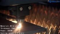 3000W 14mm MS LASER CUT!Hymson Laser