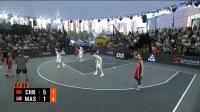 FIBA3x3亚洲杯女篮全程录像—中国v马来西亚