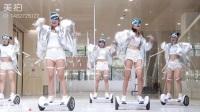 女版平衡车舞 未来感 现代感  青春活力