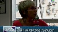 China inauguran Mil Gotas la primera librería en español