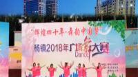 辉煌四十年舞韵中国梦杨镇2018年广场舞大赛
