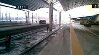 T28晚点终到北京西站进一站台