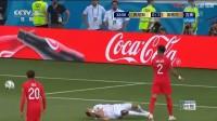 我在【全场集锦】凯恩补时头球绝杀 突尼斯1:2英格兰截了一段小视频