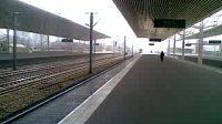 2224次正点到达塘沽站进三站台