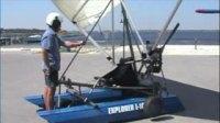 Krucker 探险者(Explorer) 单人水陆两栖动力三角翼