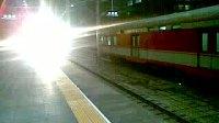 1523次正点到达天津站进二站台
