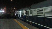 1136次正点从天津站一站台发出