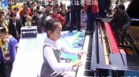 肖千千钢琴演奏江苏综艺蒙牛未来星