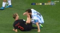 我在【全场集锦】莫德里奇世界波破门 阿根廷0-3克罗地亚截了一段小视频