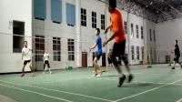 快乐羽球运动