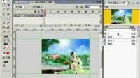 FLASH动画教程315 精彩的遮罩流水效果2