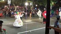 2011上海旅游节花车大巡游之芬兰桑巴舞蹈团的表演